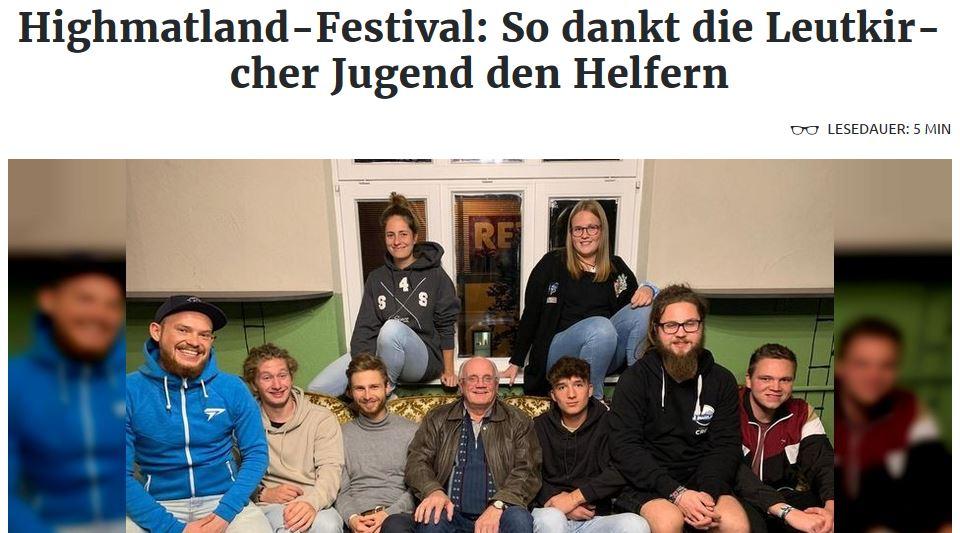 Highmatland-Artikel in der Schwäbischen Zeitung